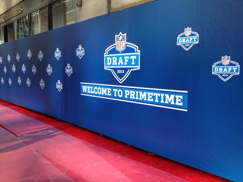 step and repeat - nfl draft