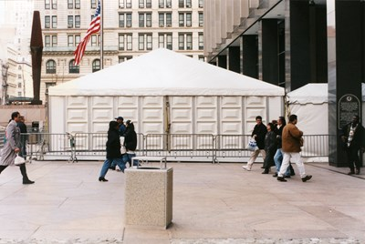 GSA Security Tent-NYC